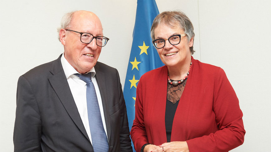 ECRI Chair meets PACE President