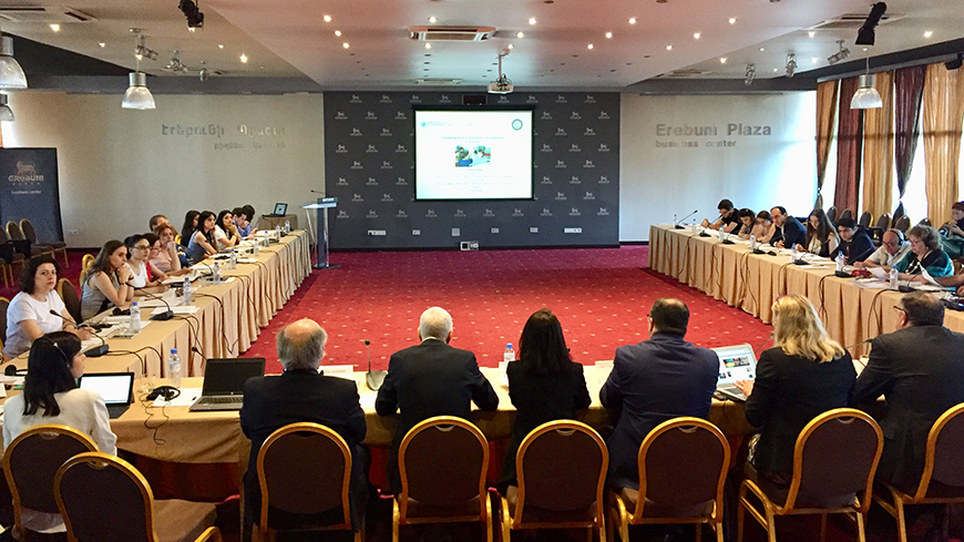 Combating racial discrimination and intolerance in Armenia: a Round Table of the Anti-racism Commission of the Council of Europe in Yerevan