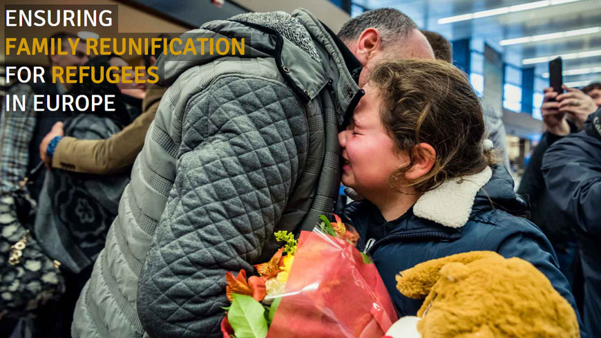 European countries must lift obstacles to reunification of refugee families