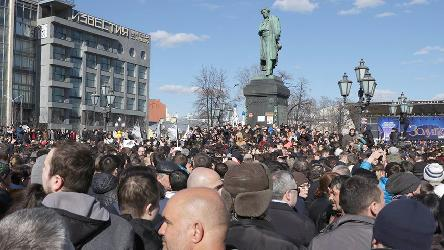 The law on freedom of assembly in the Russian Federation needs thorough revision