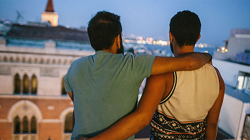 Two LGBTI persons fled Syria to seek asylum in Europe - Photo Bradley Secker