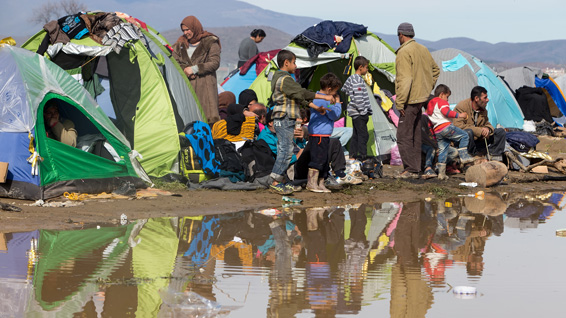 Idomeni camp, Greece ©Shutterstock