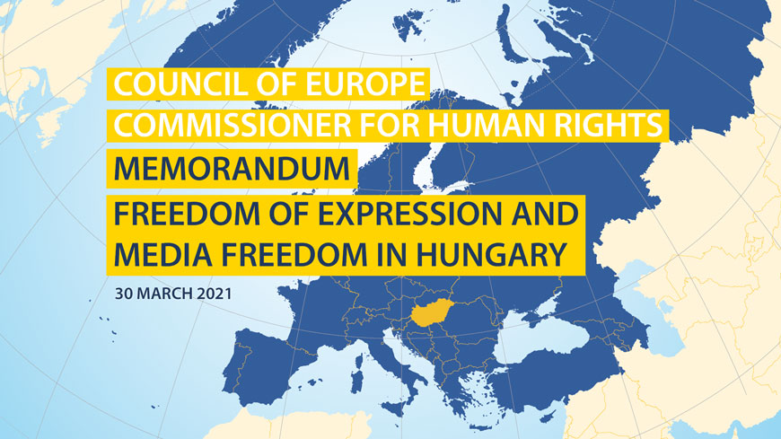 It is high time for Hungary to restore journalistic and media freedoms