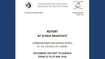 Albania should continue improving child protection and inclusion of persons with disabilities