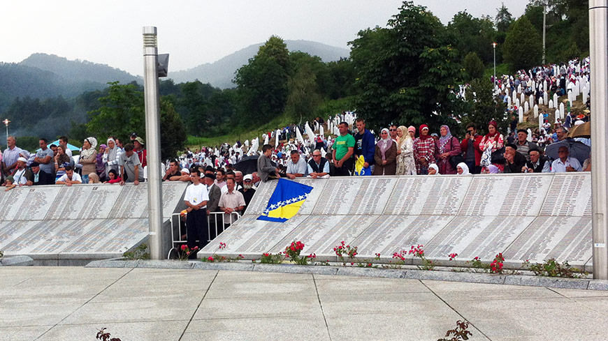 Victims of the Srebrenica genocide deserve respect and support