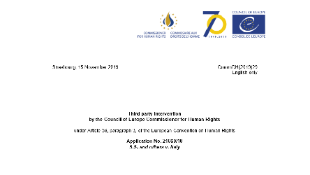 Commissioner publishes observations on alleged human rights violations of migrants returned from Italy to Libya