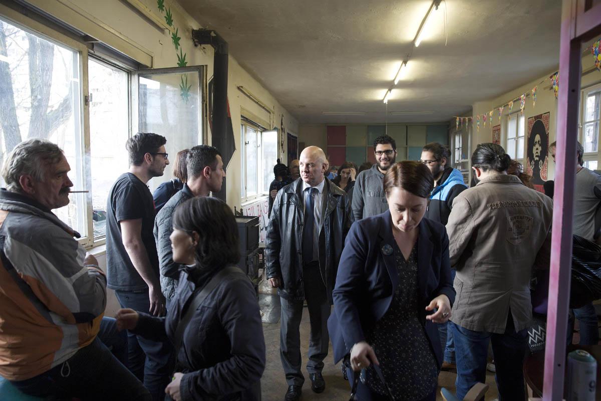 The Rog Factory Social Centre, Ljubljana, Slovenia, 20 March 2017  ©CoE/Borut Krajnc