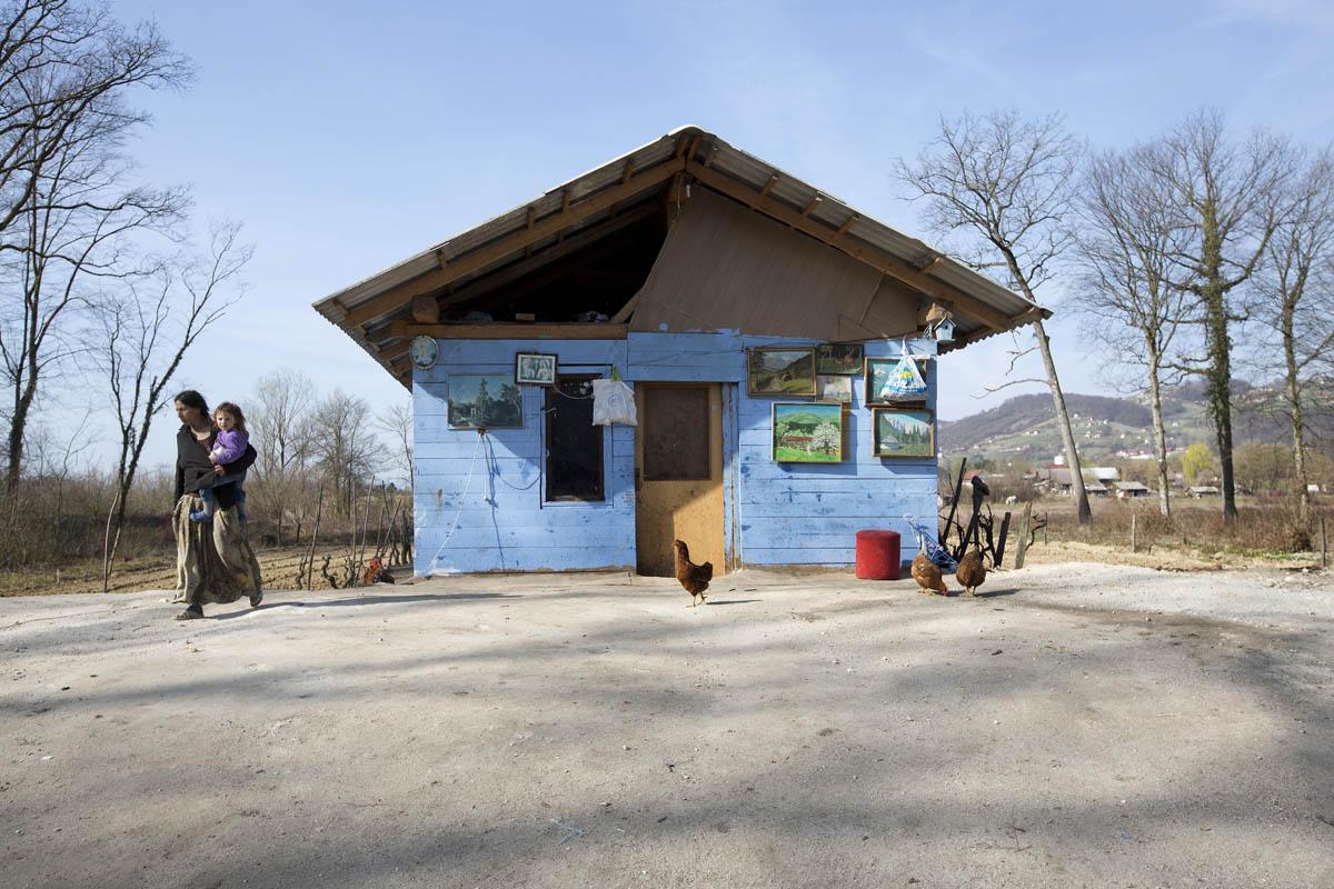 Dobruška vas settlement, Škocjan, Slovenia, 21 March 2017  ©CoE/Borut Krajnc