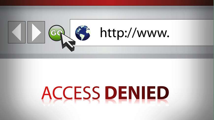 arbitrary internet blocking jeopardises freedom of expression