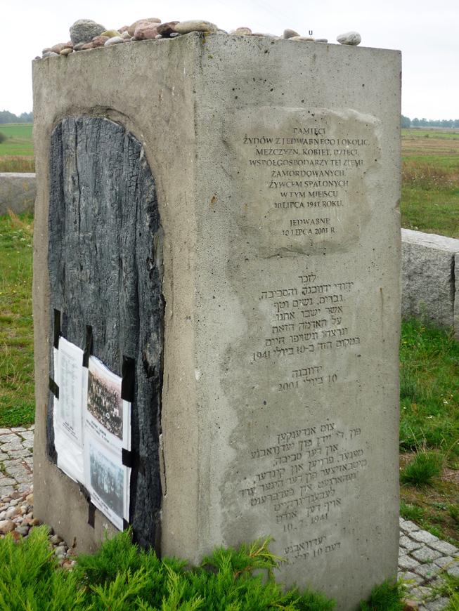 Pogrom memorial in Jedwabne - Pogrom memorial in Jedwabne