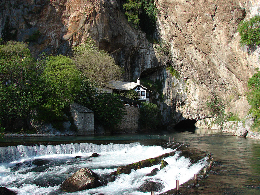 Tekke in Blagaj on the Buna, the natural and architectural ensemble.jpg