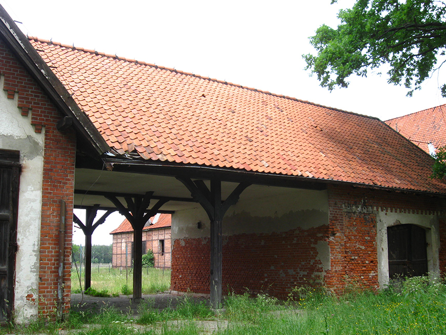 Kadyny, XIV centuryTeutonic village, emperor Wilhelm II summer residence and maiolica tile factory. Factory village buildings  - photo 2.jpg