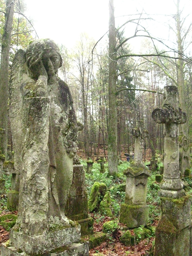 Stare Brusno - destroyed orthodox village cemetary in Subcarpathian voivodeship, restaured by a local NGO.jpg