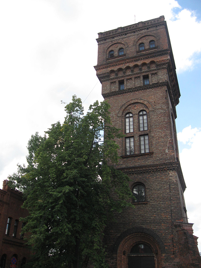 Tower of the Museum of Gas Industry in Warsaw.jpg