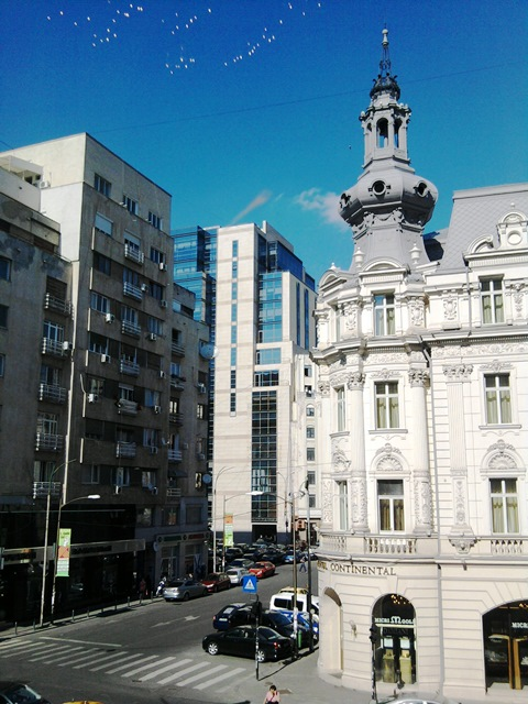 Victoriei Street in the centre of Bucharest 19th and 20th century architecture.jpg