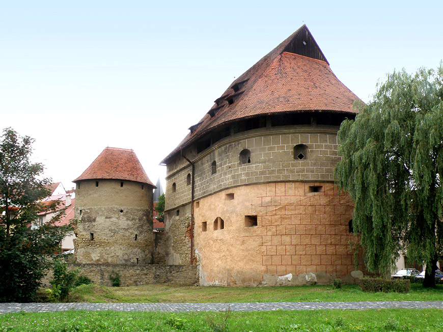 Bardejov - Fortification Bastion.jpg