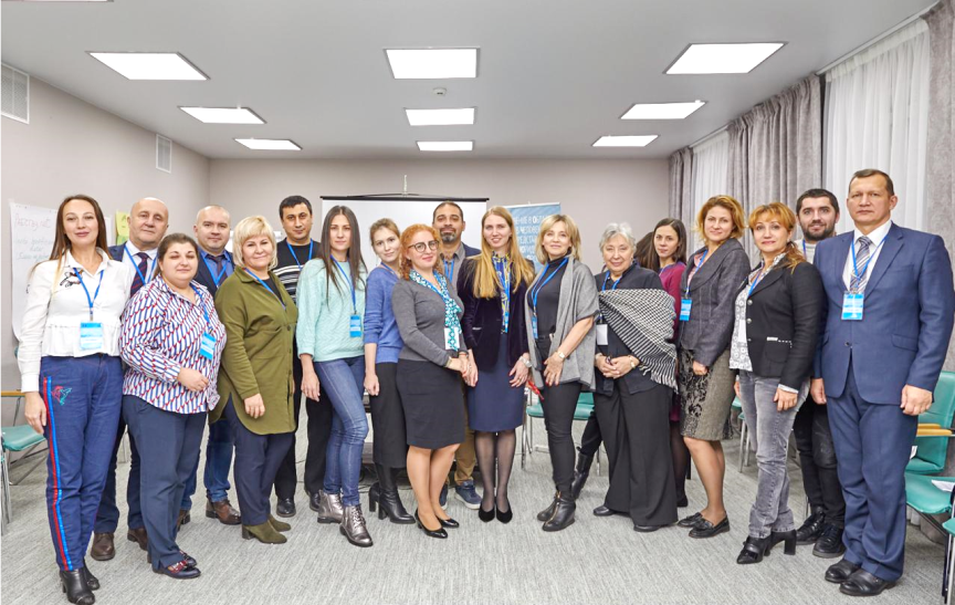Training in Irkutsk in frames of the second phase of the HELP Programme held on 22 and 23 November.