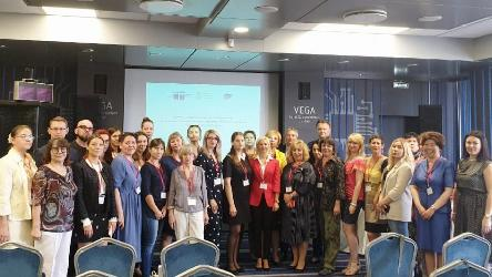 "Media training within the framework of the Joint Project ""Co-operation on the Implementation of the Russian Federation National Action Strategy for Women, 2017-2022"""