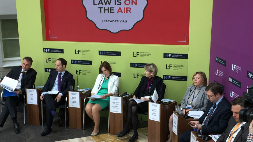 Presentation of the Project's results «Free Civil Legal Aid and Assistance for Vulnerable Groups in the Russian Federation» at St. Petersburg International Legal Forum