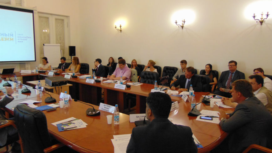 Round table on the occasion of the International Youth Day