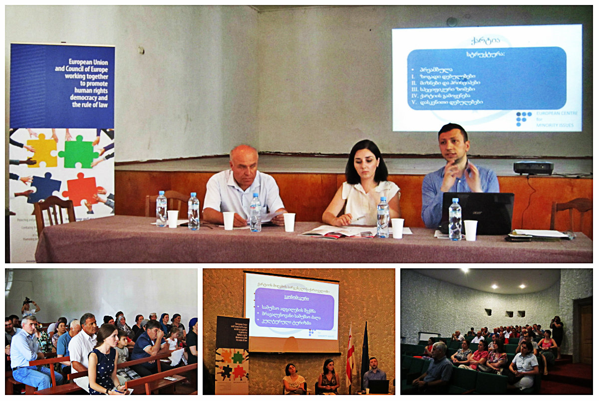 Information meeting for the speakers of the Kist/Chechen, Ossetian, Avar and Udi languages