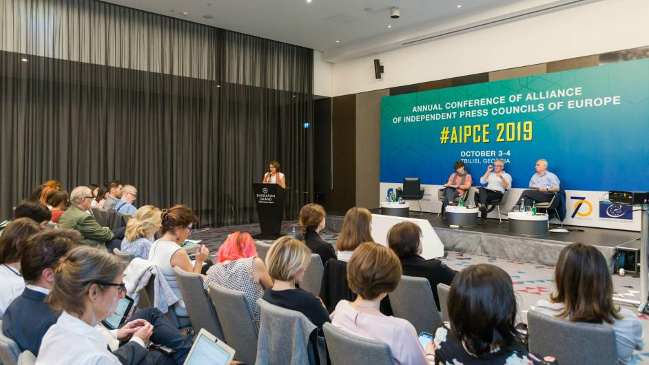 Annual Conference of the Alliance of Independent Press Councils of Europe held in Georgia