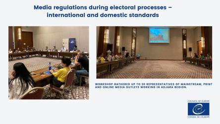 Workshop on media regulations during electoral processes – international and domestic standards