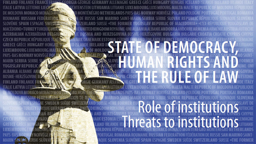 Secretary General 2018 Report: Role of Institutions, Threats to Institutions
