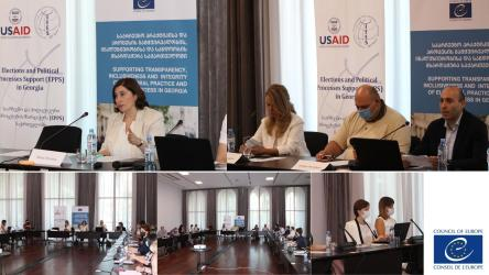 Training of trainers on electoral dispute resolution was conducted for the staff of the Central Election Commission of Georgia