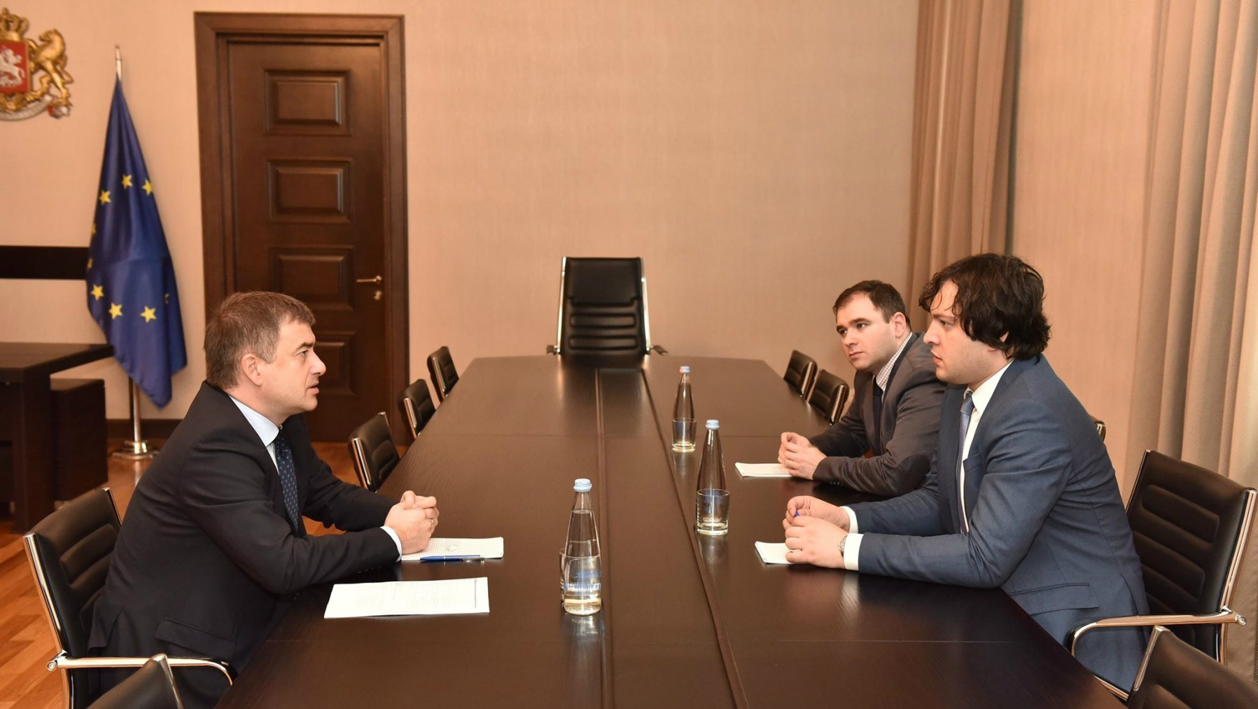 The Head of the Council of Europe Office in Georgia met with the Chairman of the Parliament