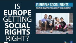 Social rights of children, families and migrants in danger across Europe: latest annual conclusions from the European Committee of Social Rights