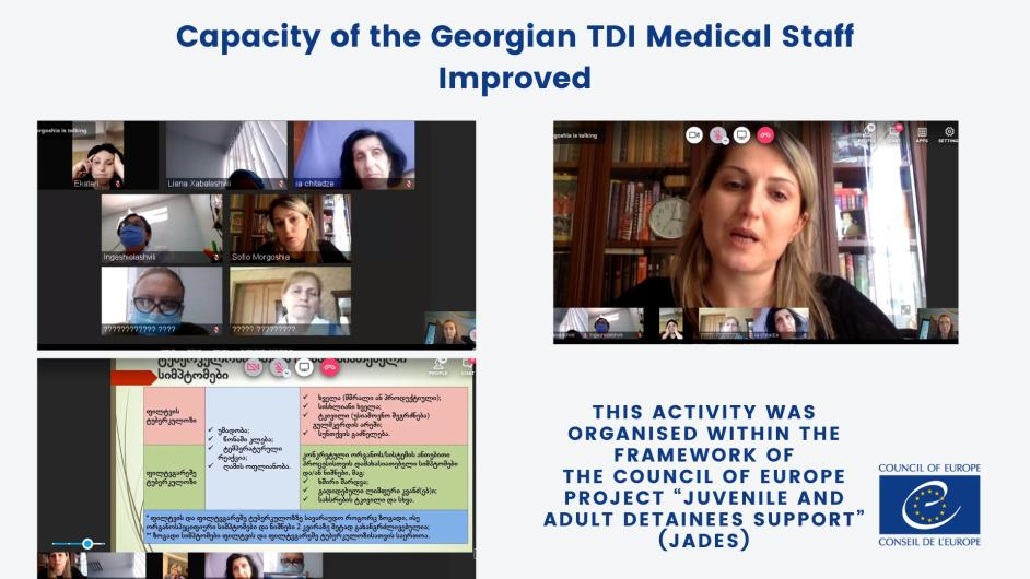 Professional Capacity of the Georgian TDI Medical Staff Improved