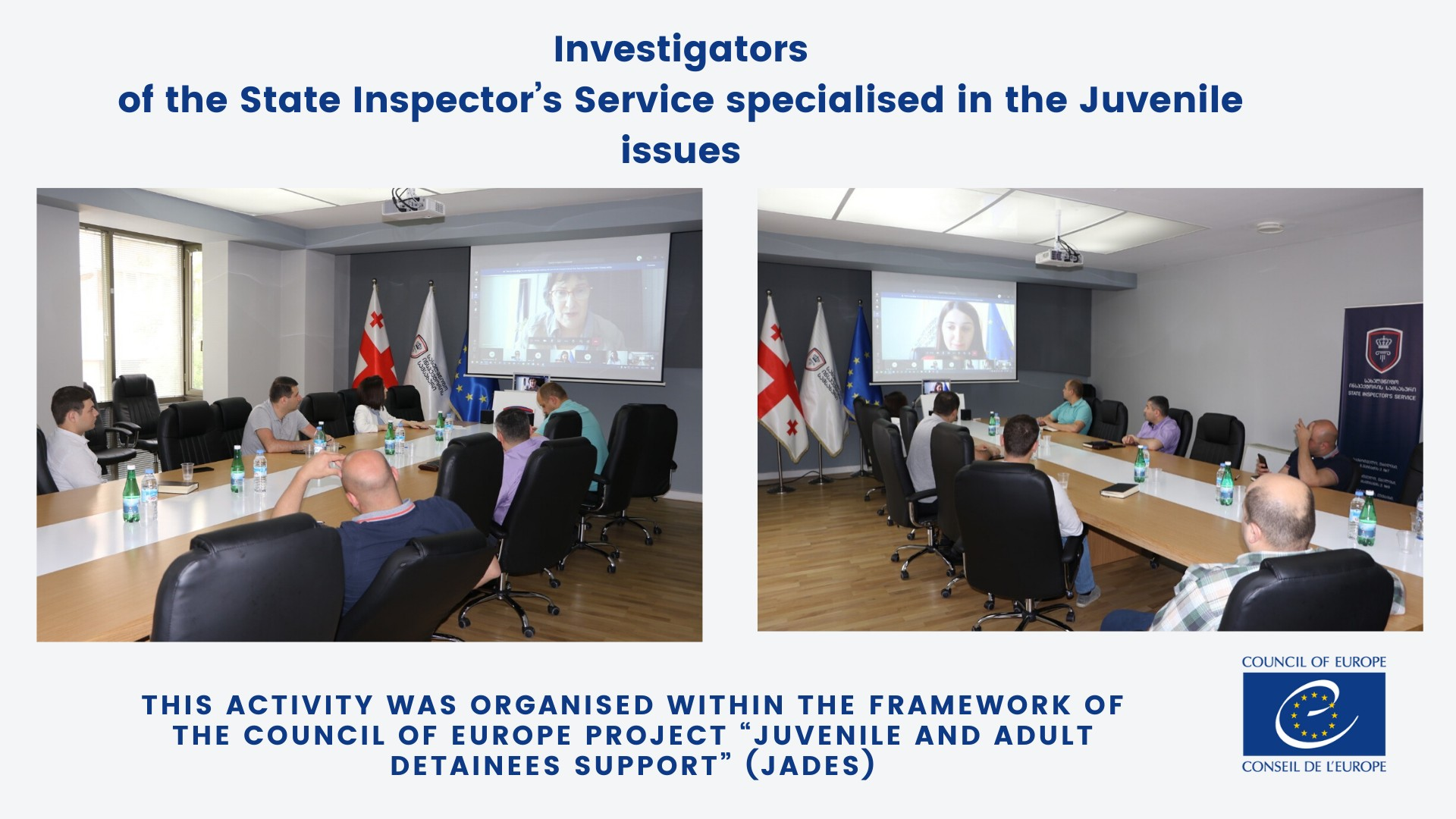 Investigators of the State Inspector's Service specialised in the Juvenile issues