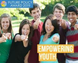 Council of Europe's youth co-management system receives Future Policy Award for empowering youth