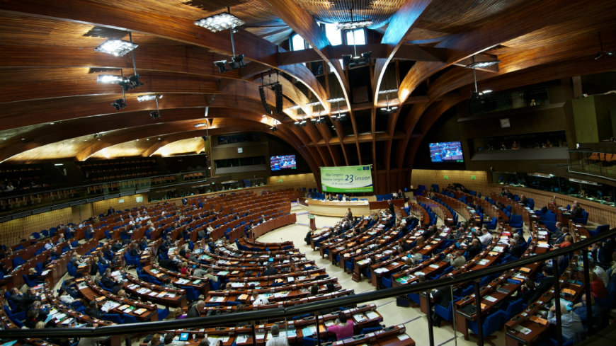 Parliamentary Assembly of the Council of Europe adopts a new resolution and recommendation
