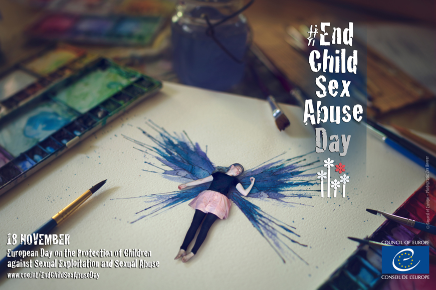 18 November: European Day on the Protection of Children against Sexual Exploitation and Sexual Abuse
