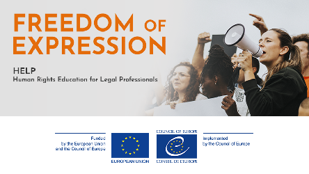 Updated course on Freedom of Expression available on the HELP platform
