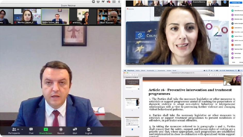 Online Conference: Violence against women - addressing issues with perpetrators
