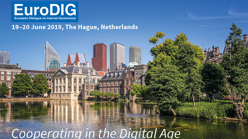 European Dialogue on Internet Governance in The Hague
