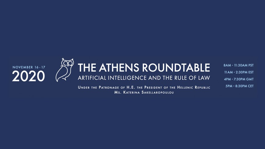Athens Roundtable On Ai And The Rule Of, Round Table Law
