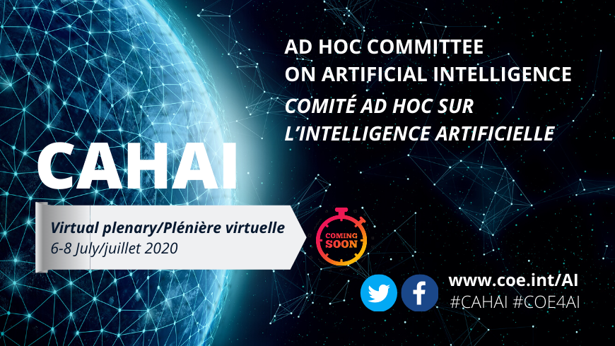 Second plenary meeting of the Ad Hoc Committee on Artificial Intelligence (CAHAI)
