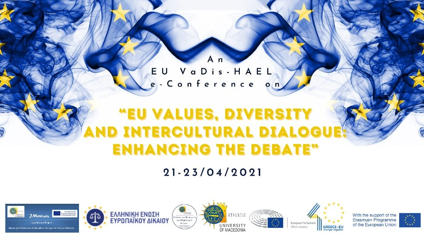 "Council of Europe participation in the e-conference ""EU Values, Diversity and Intercultural Dialogue: Enhancing the debate"""