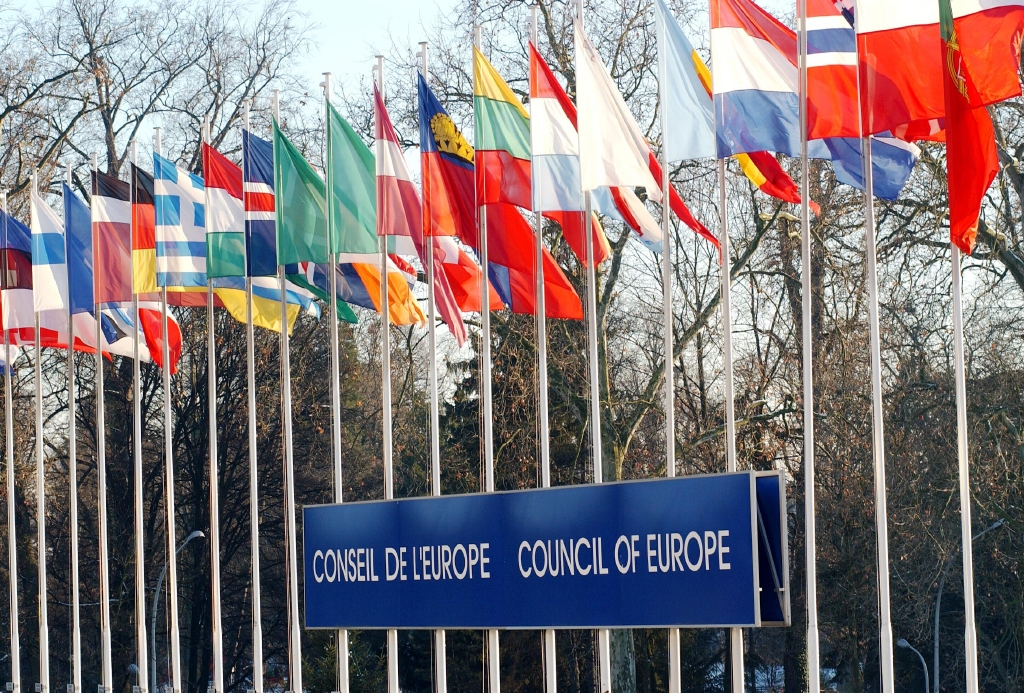 Flags Council of Europe