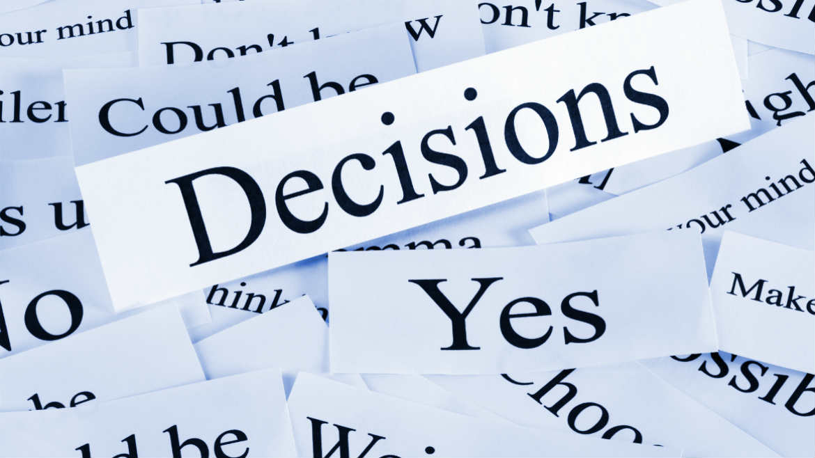 Pilot activities – decision-making process