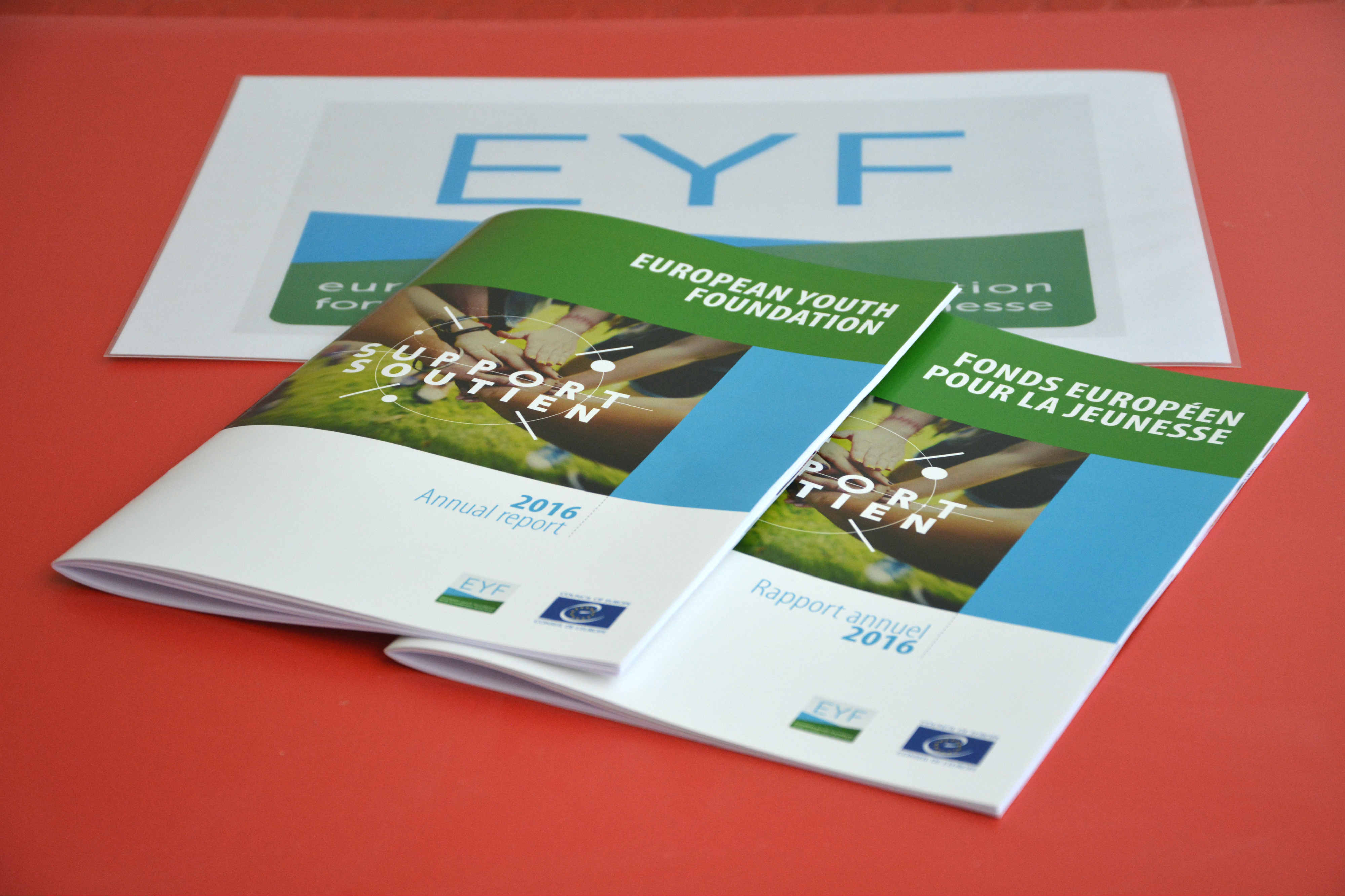 The EYF presents its revamped Annual Report for 2016