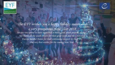 Best wishes from the EYF