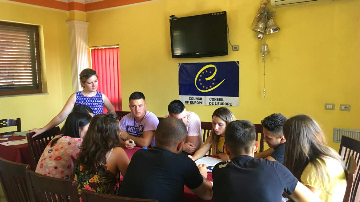 EYF visit to Albania