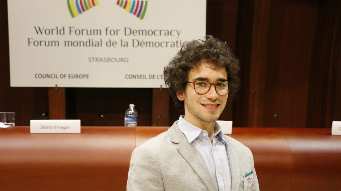 Interview with Fausto Gernone, youth delegate