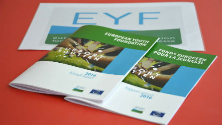 EYF annual reports