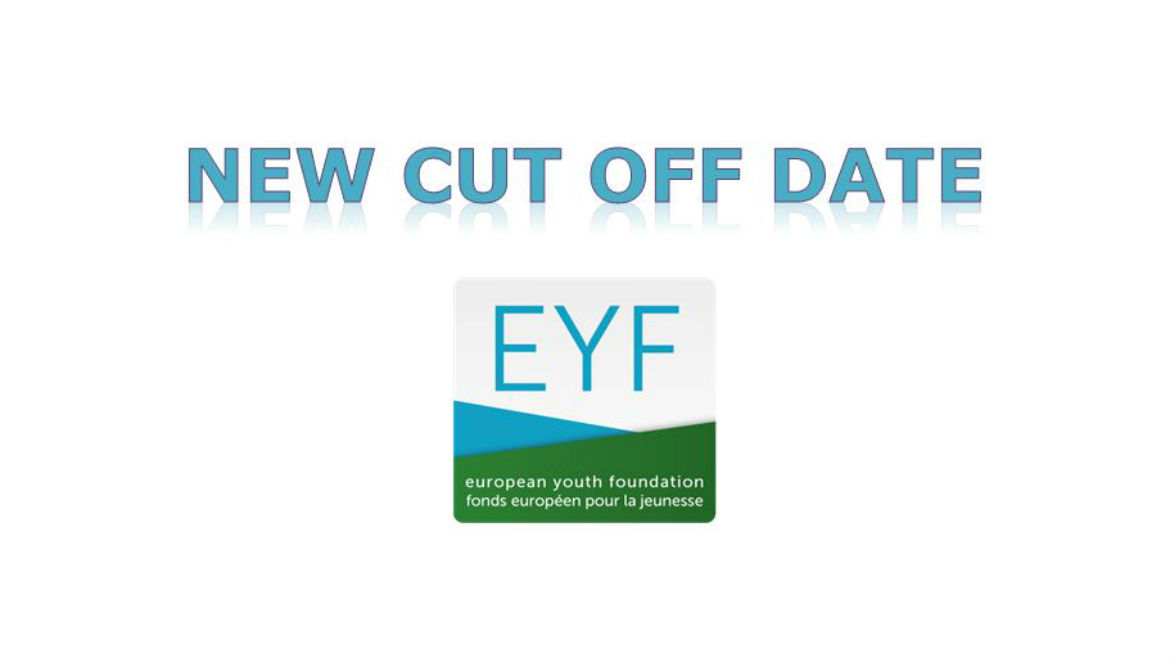 Cut-off date for pilot activity applications